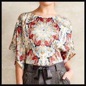 KAS NEW YORK | winterstar kimono medallion blouse